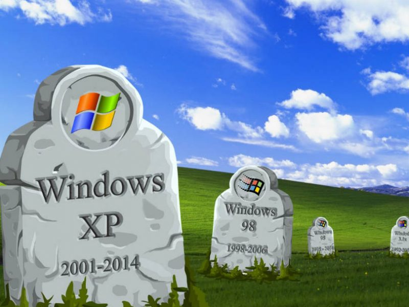 graphic - RIP Windows XP