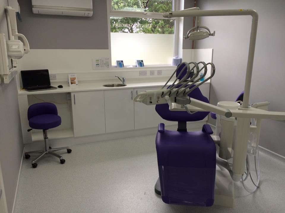 Photo - treatment room at Bridgend Dental Surgery