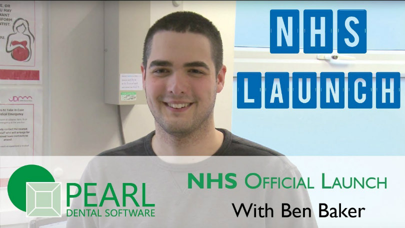 Ben Baker talking about the NHS version launch of Pearl Dental Software