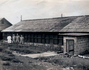 Picture - RAF Dental Team, Freetown, Sierra Leone during WW2 (source: Alex W Duncan)