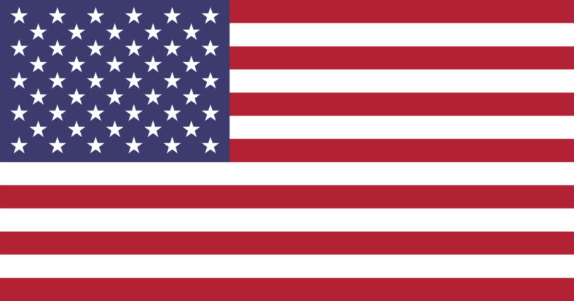 Graphic - flag of the United States of America