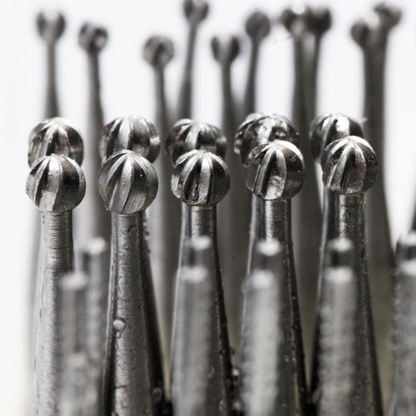photo - dental burrs